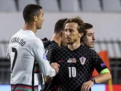 UEFA NL 리그A 3조 6차전 크로아티아 2:3 포르투갈
