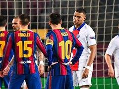 UEFA CL 16강 1차전 FC 바르셀로나 1:4 파리 생제르맹 FC
