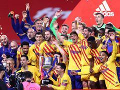 SPA CUP 결승전 아틀레틱 빌바오 0:4 바르셀로나