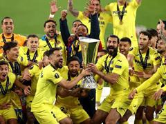 UEFA EL 결승전 비야레알 1:1 맨체스터 유나이티드