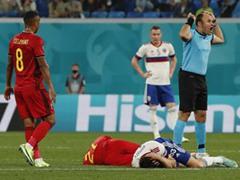 UEFA EURO 조별리그 B조 1차전 벨기에 3:0 러시아