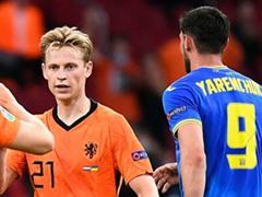 UEFA EURO 조별리그 C조 1차전 네덜란드 3:2 우크라이나