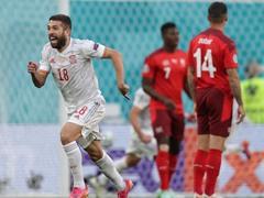 UEFA EURO 8강전 스위스 1:1 스페인(승부차기 1:3)