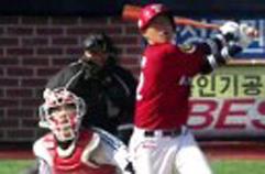 기아 이성우 투런 홈런, 묵직한 한방 2013 프로야구 시범경기