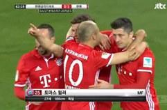 보루시아 묀헨글라트바흐 0:1 FC 바이에른 뮌헨 하이라이트