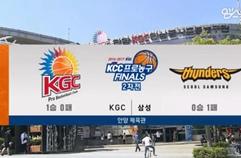 서울 삼성 썬더스 75:61 안양 KGC인삼공사 하이라이트