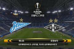 FC 제니트 3:1 로센보르그 BK 하이라이트