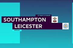 사우샘프턴1:4 레스터 시티 FC 하이라이트