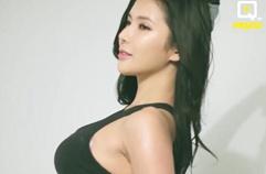 신비로운 미소를 현직 모델 머슬퀸 김인선! 2017 머슬마니아 커머셜 톨 1위