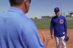[2018 MLB DEMO] '타고난 수비 재능' 하비에르 바에즈가 말하는 태그 플레이의 정석