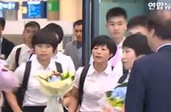 북측 단일팀 선수들, 예정보다 하루 늦은 모레 방남
