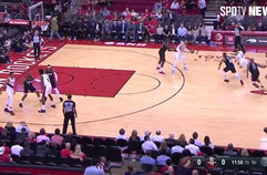 [NBA] '포틀랜드의 에이스' 데미안 릴라드, 휴스턴전 활약상