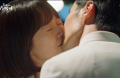 접수 키스♥ 순백커플의 서툴지만 달콤한 첫 입맞춤