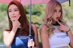 [4K] 2019-9-1 인제 본부모델-포토후반: CJ 슈퍼레이스(Super Race Inje Headquarter Models)