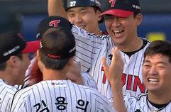 [전체HL] '채은성 동점포-페게로 쐐기포' LG, 키움에 2연패 뒤 첫 승