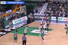 '4연승' DB의 막강 트리플포스트...돌아온 '원주 산성'