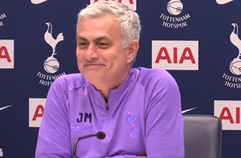 [PL] 무리뉴: 손흥민, 내일 골을 넣어 줄 것이라 믿는다 - 24R 경기전 인터뷰(풀영상)