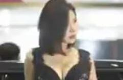 모터쇼...블랙 누나