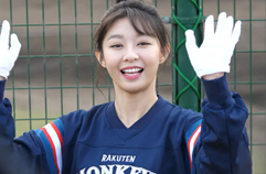 Beautiful baseball cheerleader♥