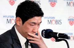 [풀영상] '은퇴' 양동근, 눈물의 기자회견