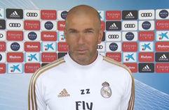 [라리가] 지단: 레알 선수들, 우승 생각하며 즐겁게 훈련