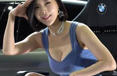 시선강탈포즈 레이싱모델 송주아 - 4K 직캠