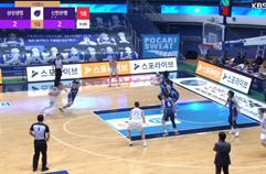 '두 자리 득점만 5명' 삼성생명, 신한은행 꺾고 연패 탈출