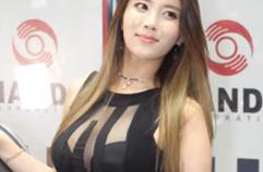 [4K] 서울오토살롱 2017 | SEOUL AUTO SALON 2017 - 차정아 Cha Jeonga, Racing Model 레이싱모델 車模 #17 (Vertical)