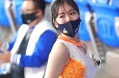 ok금융그룹 배구 김수현 치어리더 201101