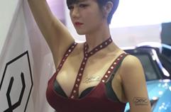한혜은 레이싱모델 직캠 오토살롱위크 JAJ Racing Model Han HyeEun Fancam AutoSalonWeek