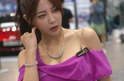 오토살롱위크 여시연 레이싱모델 직캠 모모리얼 AutoSalonWeek Yeo SiYeon レースクィーン Racing Model Fancam MOMOREAL