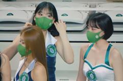 210124 치어리더 최석화 직캠[4K세로] '오프닝 공연' (Fancam) @원주DB 남자농구 원주종합체육관 By 천둥