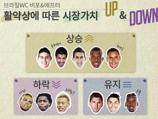 월드컵 그 후, 선수 UP & DOWN
