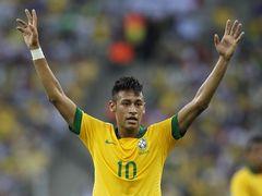 국제친선경기  브라질 2:2 잉글랜드