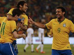 국제 친선경기  남아프리카 공화국 0:5 브라질
