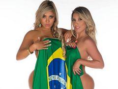 월드컵을 위해 기세를 올린 남미미녀들