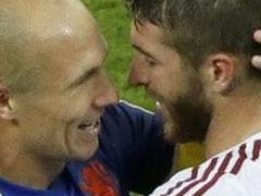 브라질 월드컵 B조 스페인 1:5 네덜란드