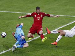 브라질 월드컵 B조 스페인 0:2 칠레