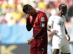 브라질 월드컵 G조  포르투갈 2:1 가나