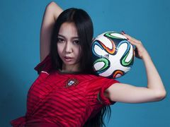 포르투갈을 응원한 풋볼 베이비