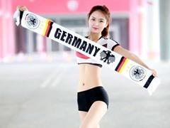 독일를 응원한 풋볼 베이비