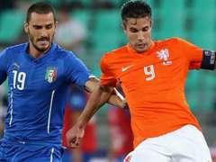 국제 친선경기  이탈리아 2:0 네덜란드