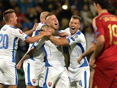 UEFA EURO 예선경기 C조 2차전  슬로바키아 2:1 스페인