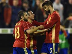국제 친선경기  스페인 2:0 잉글랜드