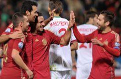 스페인 3:0 벨로루시 하이라이트