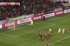 체코 0:2 터키 골장면