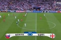 '바디 침묵' 잉글랜드, 슬로바키아와 0-0 무승부..조 2위 16강행