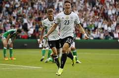 북아일랜드 0:1 독일 하이라이트